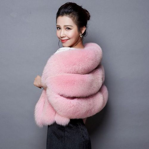 Winter Faux Fur Wrap